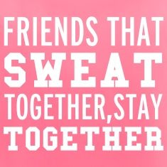 friends that sweat